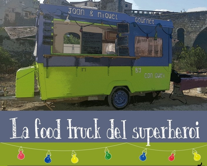 cartell food truck  superheroi