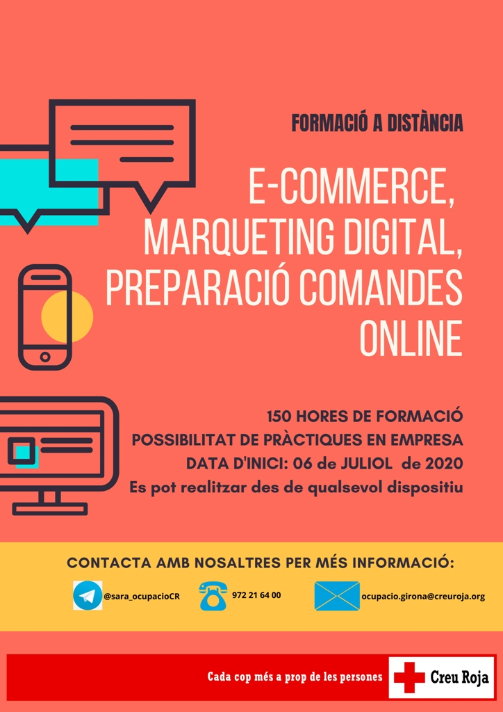 e-commerce, marqueting digital preparació comandes online